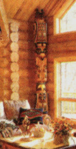 House Totem as featured in Country's Best Log Homes Magazine
