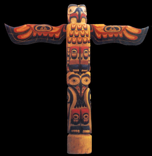 Totem Pole Pictures And Carving Examples