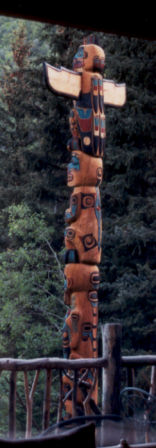 Totem Pole on site in Park City, Utah